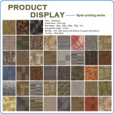 Printed carpet tile