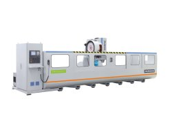 parker BT40 heavy aluminium cnc machining center
