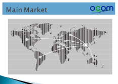 OCOM Main Markets