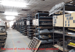 The room of molds