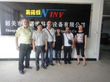 Foreign Customer From Iraq Visit INV company
