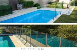 Swimming Pool Fence Glass