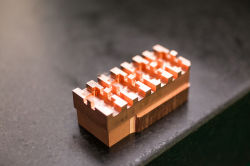 Super Small Size High Accuracy Copper Machining