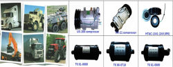 construction machinery air conditioner parts