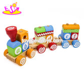 Classic Toddler Wooden Stacking Train Toy
