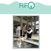 Rifo customer visiting