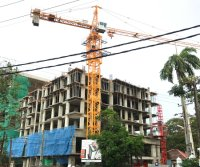 Model 5010 Tower Cranes Project in Sri Lanka