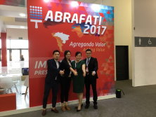 Coating show at ABRAFATI BRAZIL