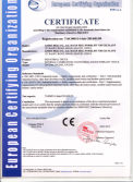 CE Certification for Internal combustion counterbalanced forklift truck model CPCD40