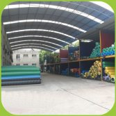 Warehouse for artificial grass stock