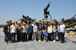 Hebei Huaqi Staff travelled to ancient city-XI′AN