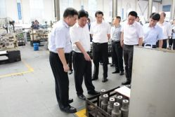 The Mayor of Changsha city visited Heijingang company