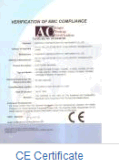 electronic scale CE certificate