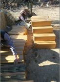 Slate/Ledge Stone/Culture Stone Package -- Carton + Wooden Crate 1