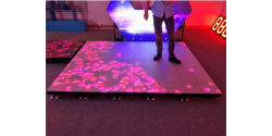 The Difference between Interactive LED Floor Tiles and Projectors