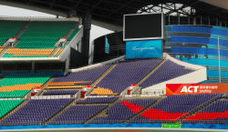 Seats for Olympic sports center stadium