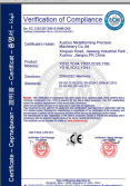 CE Certificate of Power Press