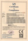 CE Certificate of IR touch screen monitor