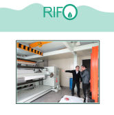 Rifo synthetic paper surface coating equipment