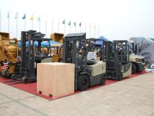 UN Forklift Has Taken Part In The 106th Canton Fair