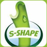 S shape designed grass