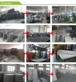 Plastic table production process