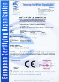 CE Certification for Internal combustion counterbalanced forklift truck model CPYD40