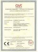 CE CERTIFICATES for FRP TANK