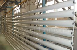 Powder coating line_ Horizontal