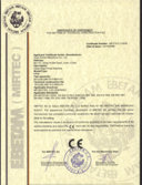 CE Certificate for EF95