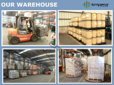 OUR DYESTUFF IN WAREHOUSE