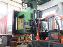 OULI XLB-D 1500×1000 press exported to South Africa