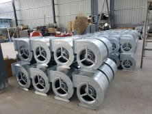 motexo air conditioner silent centrifugal fan workshop