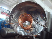 Production of solar water heater tanks