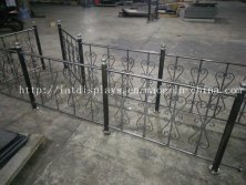 Customized wire guard bar