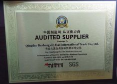 Audited Supplier (SGS MADE in CHINA)