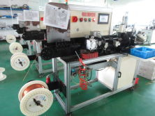 Stator coil molding machine