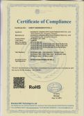 Certification of RoHS