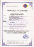 Certificate of FCC