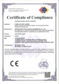 CE LVD Certificate of Stage Light