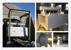 Oil cooled selfcleaning electric magnet separator export to Australian