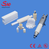 Zirconia ceramic valves and piston pump