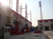 Minglong′s SC200/200 building hoist exported to Cambodia