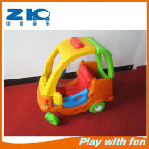 children plastic car with wheel on sell