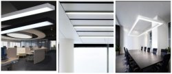 LED profiles-Meeting room application