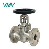 SS304 SS316L Stainless Steel Bellow Sealed Globe Valve