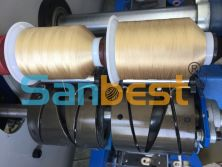 Finish-winding of Embroidery Thread