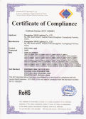 ROHS Certificate for LED Track Lights