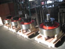 Crane Wheel Sets for Indonisia Steel Company