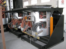 Induction Melting Furnace for Singapore Customer was Shipped On Oct. 31